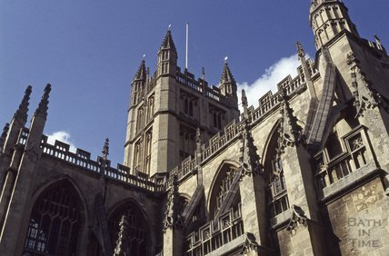 Bath Abbey, 1979