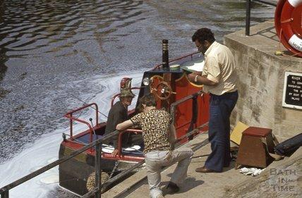 River Avon, Pulteney Weir, 1979