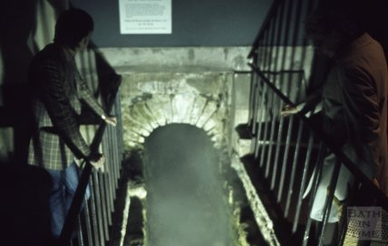 The Great Drain at the Roman Baths, 1979
