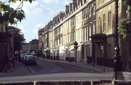 Brock Street, Bath, 1979