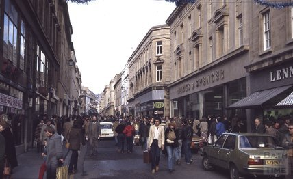 Christmas Shopping on Stall Street, 1979