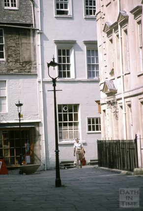 North Parade Buildings and Sally Lunns, 1979