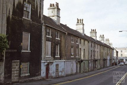 Ralph Allen Row, Prior Park Road, Widcombe, 1979