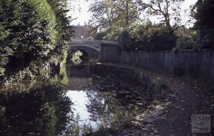 The Kennet and Avon Canal, Sydney Gardens, Bath 1979