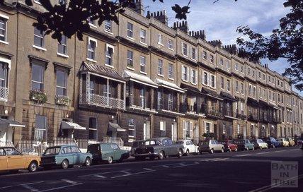 Raby Place, Bathwick Hill, Bath, 1979