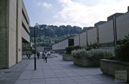 Southgate and Ham Gardens car park, 1979
