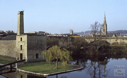 Thimble Mill, Kennet and Avon Canal, Widcombe, Bath 1979