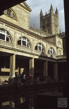 The Roman Baths, Bath, 1979