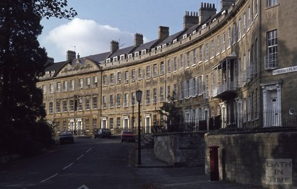 Somerset Place, Bath, 1979