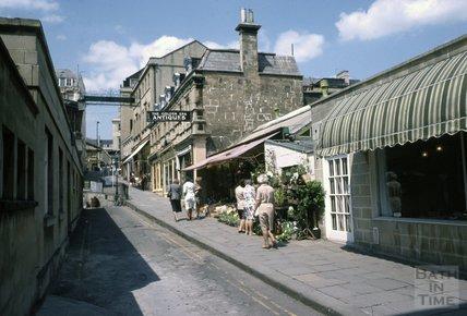 Bartlett Street, Bath, 1979