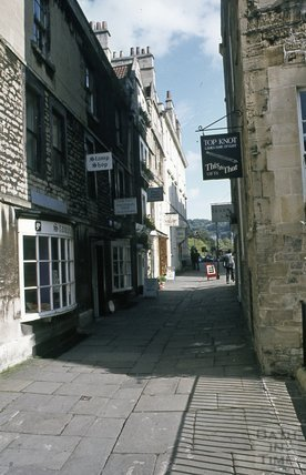 North Parade Passage, Bath, 1979