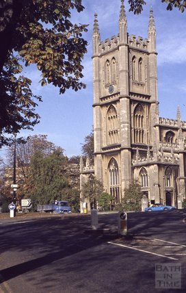 St Marys Church, Bathwick, 1979