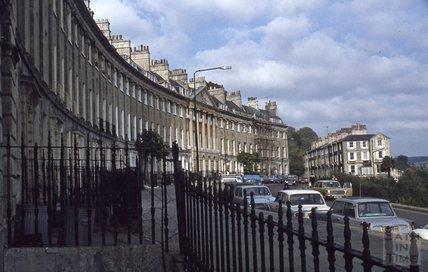 Camden Crescent, Bath, 1979