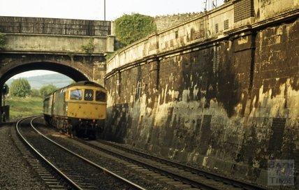 Railway, Sydney Gardens, Bath, 1979