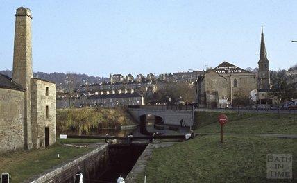 Thimble Mill, Widcombe, Bath, 1979