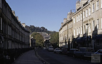 Redcar Hotel, Henrietta Street, Bath, 1979