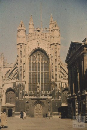 Bath Abbey 1951 - 2