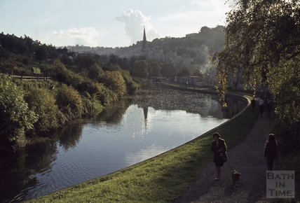 Kennet and Avon Canal, Widcombe, Bath 1979
