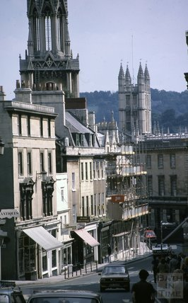Broad Street, Bath, 1979