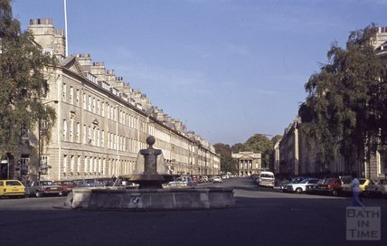 Laura Place, Great Pulteney Street, Bath, 1979