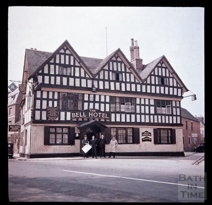 The Bell Hotel, Tewkesbury, Gloucester c.1937