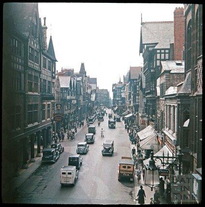 East gate Street, Chester, c.1937