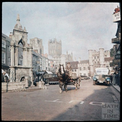 Market Square, Wells, c.1937