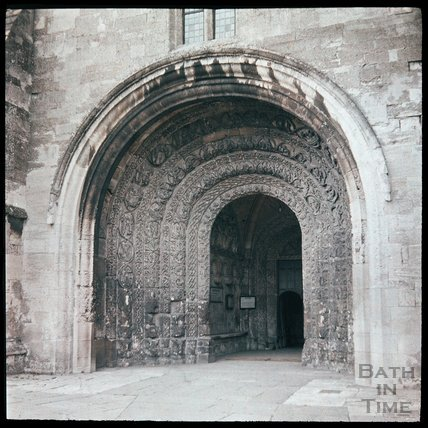 Malmesbury Abbey, South Porch, c.1937