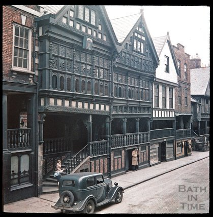 Watergate Street, Chester, c.1937