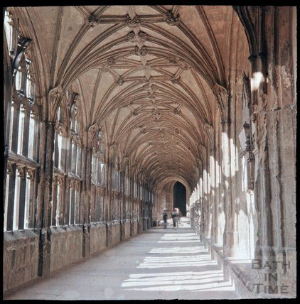 Cloister, Wells Cathedral, c.1937
