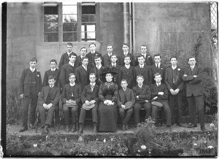 Miss Awdry's Bible Class c.1910