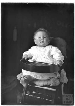 One of the photographer's twins, March 1912