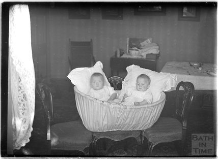 The photographer's twins, September 1911