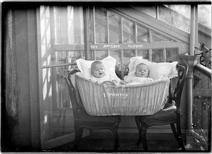 The photographer's twins, March 1912