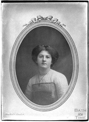 Copy of a portrait of a lady c.1906