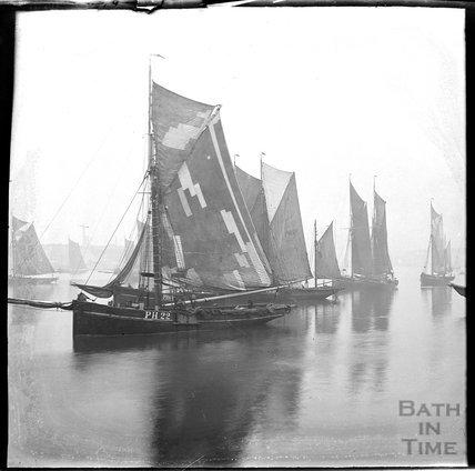 Sailing ships c.1900