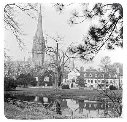 Salisbury Cathedral, c.1900