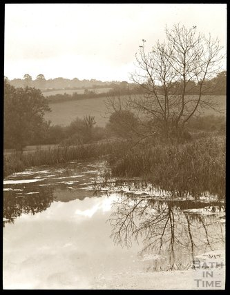 View of the Somersetshire Coal Canal, near Midford, c.1910s