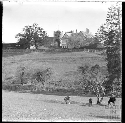 The church and vicarage, Selborne, Hampshire, c.1900