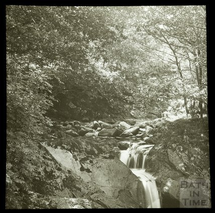 On the river Lyn, near Lynmouth, c.1910s