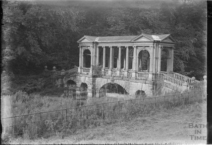 The Palladian  Bridge at Prior Park c.1920s