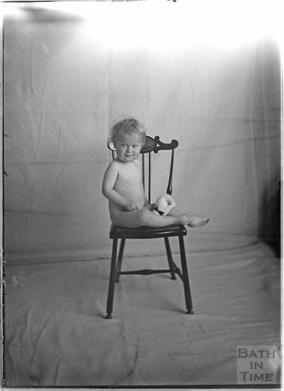 One of the photographer's twins, Sept 1912