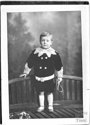 Copy of a portrait of an unidentified boy c.1900