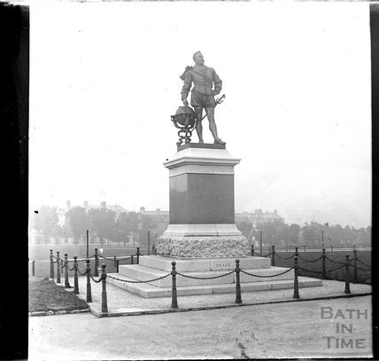 Statue of Sir Francis Drake, Plymouth, c.1900s