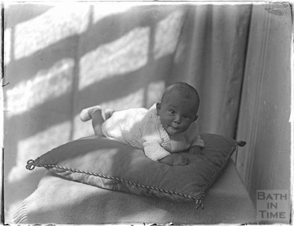 Portrait of an unidentified baby, c.1910s