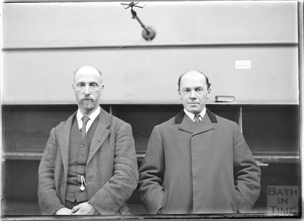 Portrait of two gentlemen, c.1910s