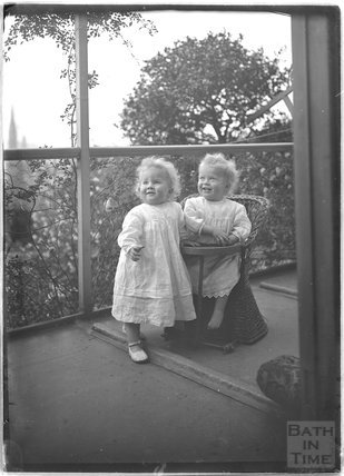 The photographer's twins Rupert and Roy, Sept 1912