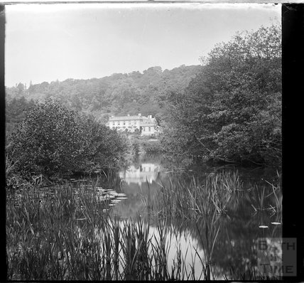 Iford Manor, viewed from the river, c.1900s