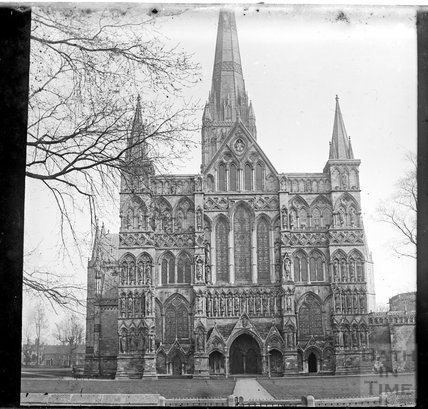 Salisbury Cathedral, c.1890s