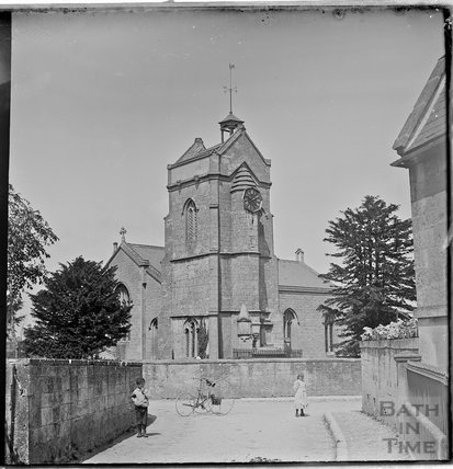 Winsley Church, c.1890s